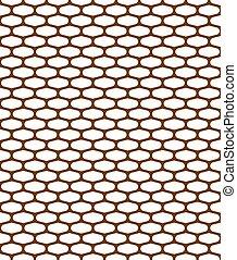 pattern metal grille