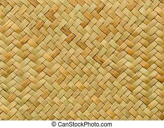 pattern nature background of handicraft weave texture wicker