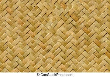 pattern nature background of handicraft weave texture wicker...