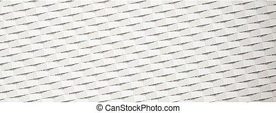pattern., noviny, textured, neposkvrněný, prapor, geometrický