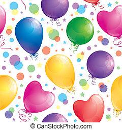 pattern of balloons