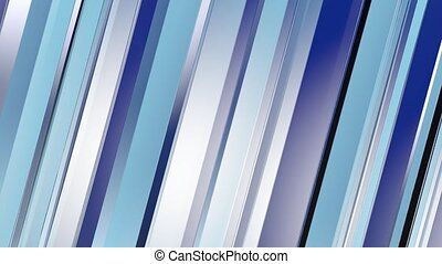 Pattern of blue color strips prisms. Abstract background. 3D...