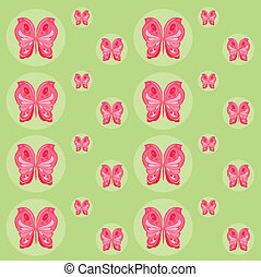 pattern of butterflies