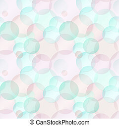 Pattern of color bubbles - seamless texture - Background -...