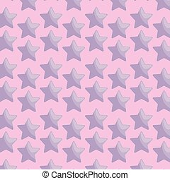 pattern of cute stars