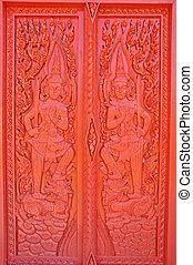 Pattern of door