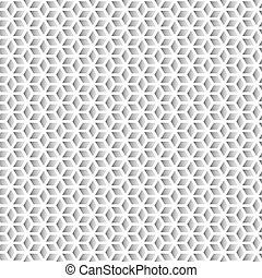 Pattern of geometric shapes. Vector