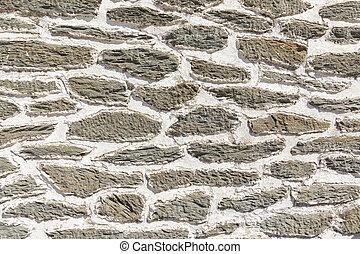 grey historic wall