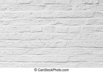 pattern of harmonic white brick background