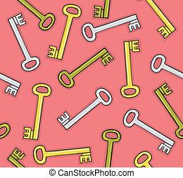 Pattern of keys
