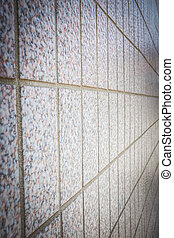 Pattern of Marble block wall