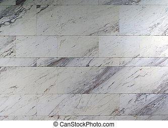 Pattern of marble stone wall