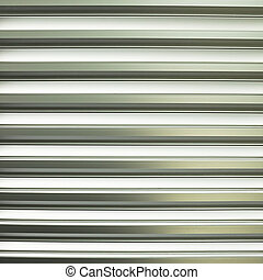 Pattern of metal slat