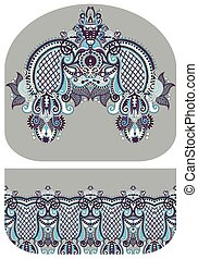 pattern of purse money design, you can print on fabric to do...