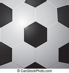 pattern of soccer ball
