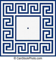 pattern of squares