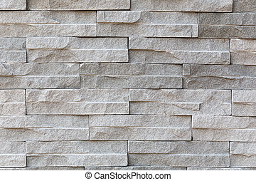 pattern of stone wall surface with cement
