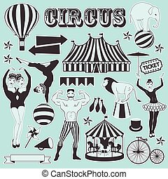 Pattern of the circus - Circus Starr getting showered...
