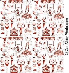 Pattern of the circus - Circus Starr getting showered ,...