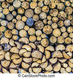 pattern of the wood pieces background