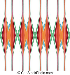 pattern of vertical color