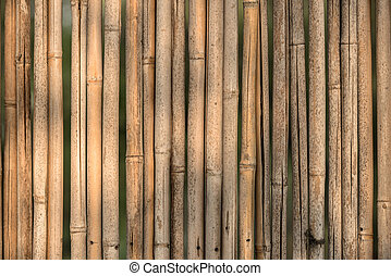 Pattern of vintage bamboo panel