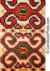 pattern old carpet