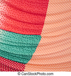 Pattern on the fabric