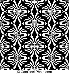 pattern., orientalny, seamless, design.