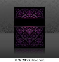 Pattern, ornament floral lilac