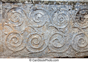 pattern ornament in neolithic temples - pattern ornament in...