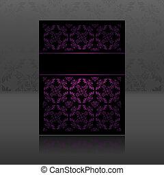 Pattern, ornament lilac floral