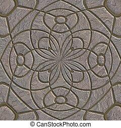 pattern., piedra, seamless, pavement.