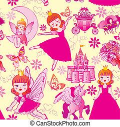 pattern., princesa