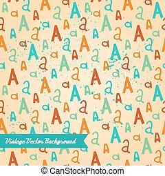 pattern., résumé, aléatoire, unique, seamless