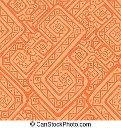 pattern., seamless, étnico