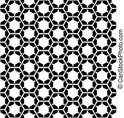 pattern., seamless, šestiúhelník