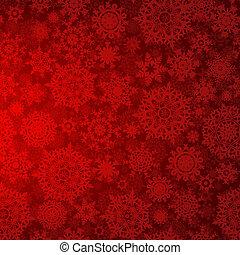 pattern., seamless, 深, eps, 結構, 8, 聖誕節, 紅色