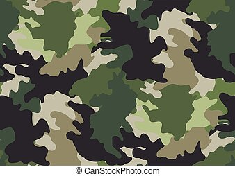 pattern., seamless, camouflage