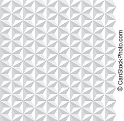 pattern., seamless, geometrisch, witte , texture., 3d