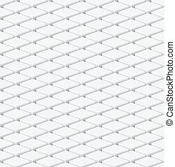 pattern., seamless, illustration, neutre, vecteur, cubes.