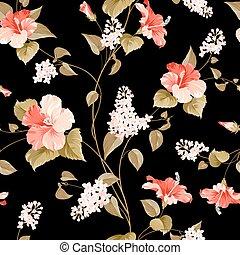 pattern., seamless, lila