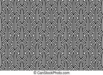 pattern., seamless, nätbindning