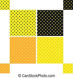Pattern seamless polka dot