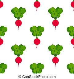 pattern., seamless, ravanelli, rosso
