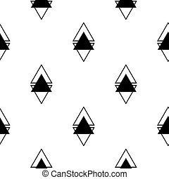 pattern., seamless, textura, escandinavo, experiência., geomã©´ricas, triângulos
