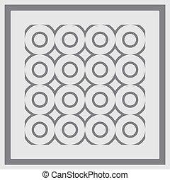 pattern., seamless, vector.