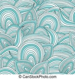 pattern., seamless, vector, resumen