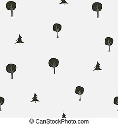 pattern., seamless, winter/merry, winter, kerstmis, verzameling