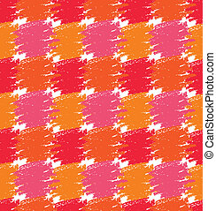 pattern., stains., grunge, seamless, kleurrijke